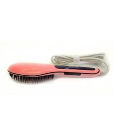 Beautiful Star Comb Hair Straightener, Straightening Hair Comb Brush, Pink